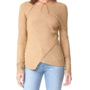 Free People Love and Harmony Asymmetrical Sweater
